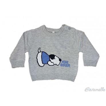 Maglia tricot con disegno...
