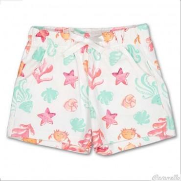 Shorts neonata con fantasia...