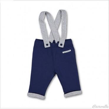 Pantalone jersey con...