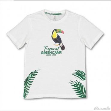 T-shirt con stampa tucano Birba-Trybeyond