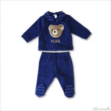 Completino neonato blu navy...
