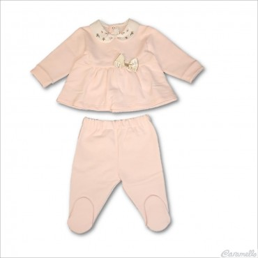 Completo neonata con fiocco...