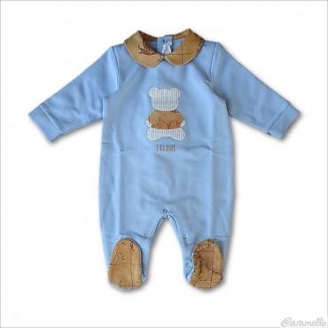 Tutina neonato con orsetto...