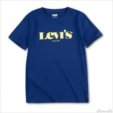 T-shirt stampata con logo...