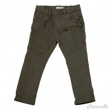 Pantalone drill stretch con...