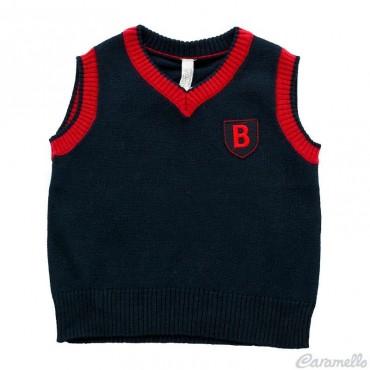 Gilet tricot con stemma...
