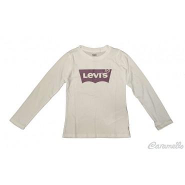 T-shirt ragazza con stampa logo LEVI'S