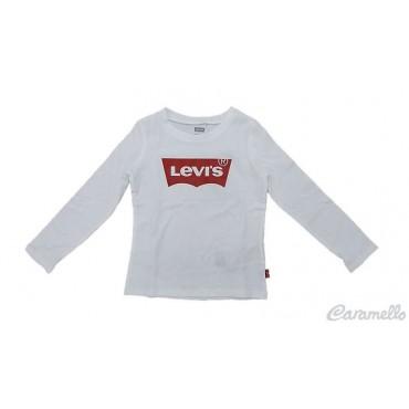 T-shirt bambina con logo a contrasto LEVI'S