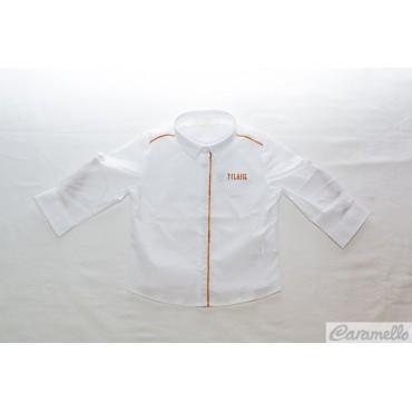 Camicia neonato con logo...