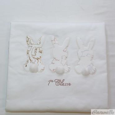 Copertina con coniglietti e...