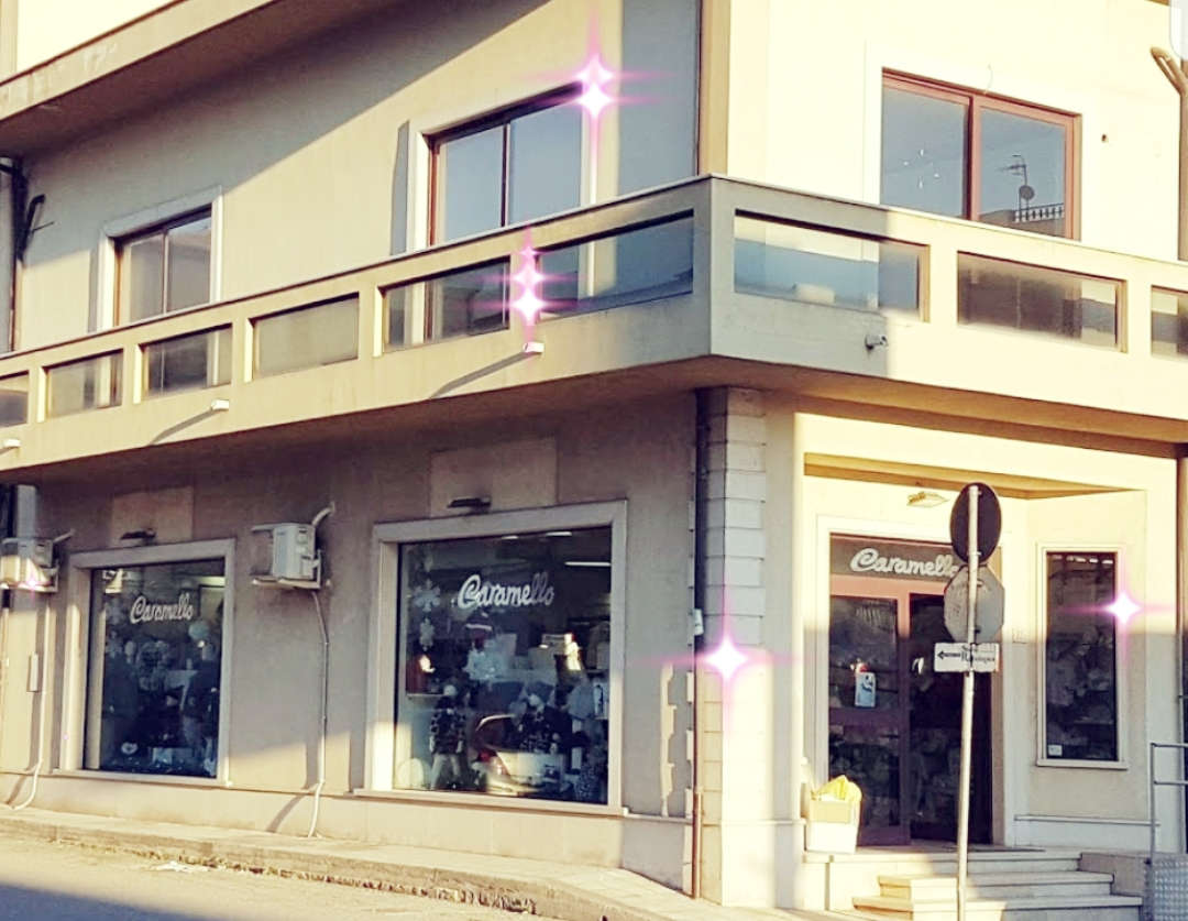 Esterno negozio Caramello